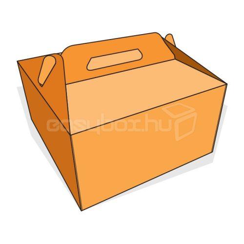 Tortaboboz 260x260x140 mm fogófüllel - easybox.hu
