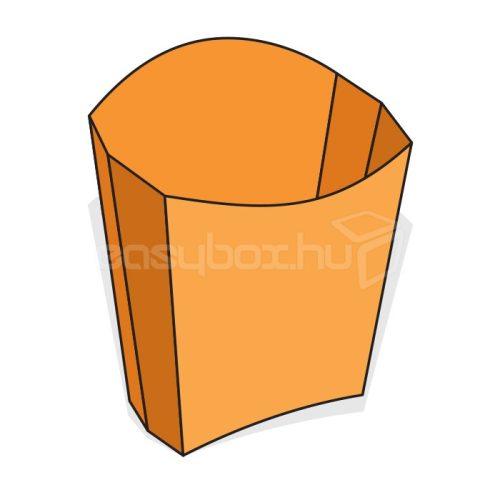 Zsírálló sültkrumplis tasak, kicsi - easybox.hu